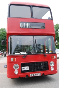 Tour London, Ontario in a double-decker bus throughout the summer